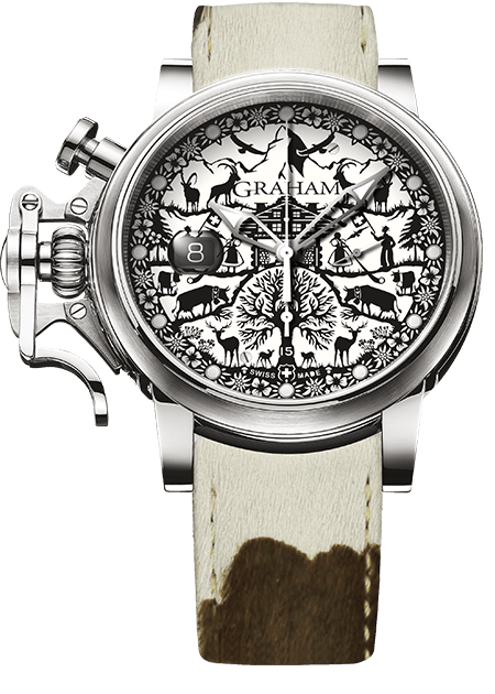 Graham Chronofighter Grand Vintage SWISS EDITION Limited edition: 50 REF. 2CVDS.W01A