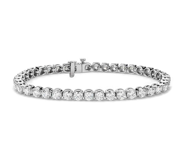 8.00Ct diamond tennis bracelet