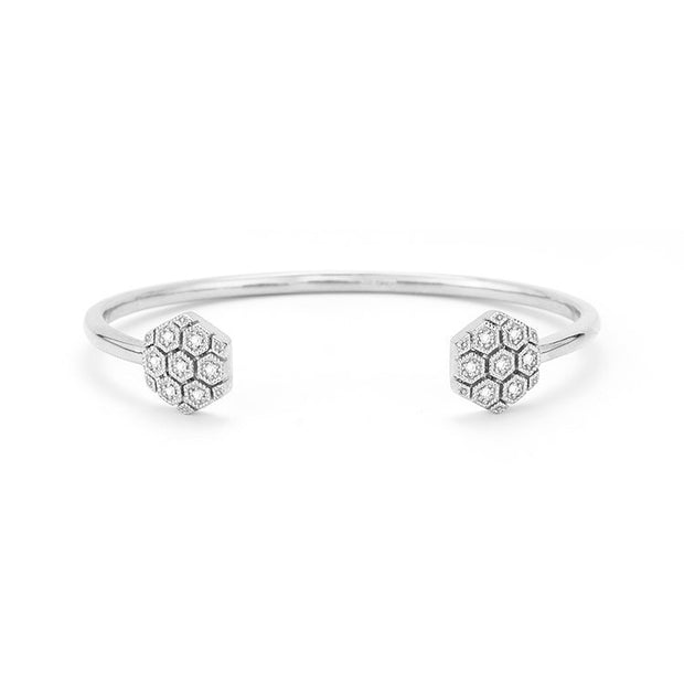 Jennifer Yamina Diamond Cuff, , Bracelet, Dana Rebecca Designs, D'Amore Jewelers