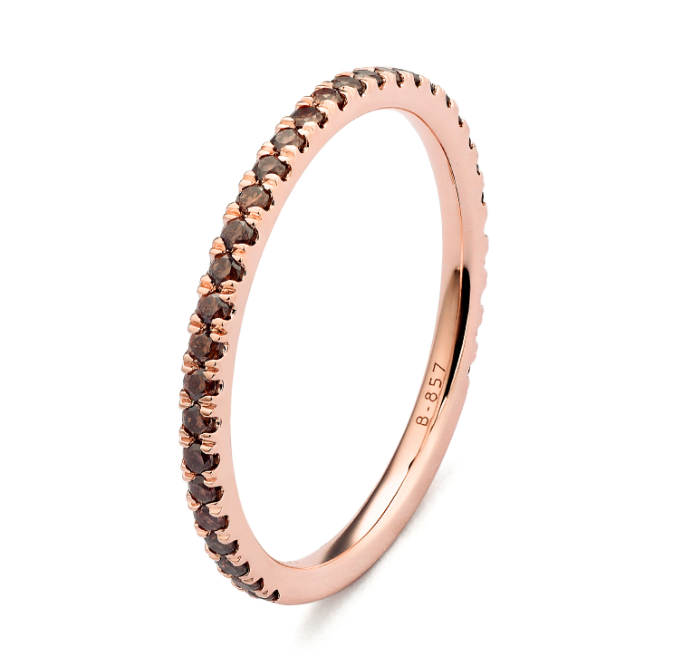 Rose Gold Stackable Ring D Amore Jewelers