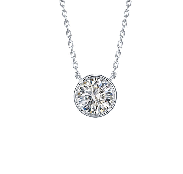 Diamond Pendant Necklace 1ct