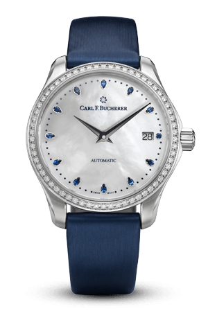 MANERO AUTODATE BUCHERER BLUE 00.10922.08.79.99