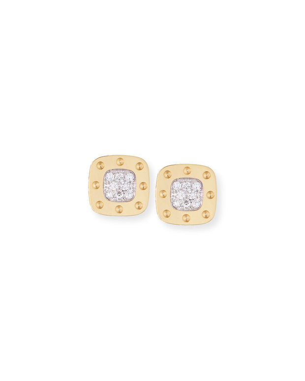 Diamond Stud Earrings, , Earring, Roberto Coin, D'Amore Jewelers