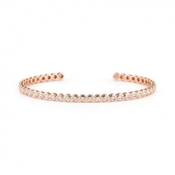 Sophia Ryan Diamond Cuff, , Bracelet, Dana Rebecca Designs, D'Amore Jewelers  - 3
