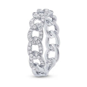 0.46CT DIAMOND CHAIN RING
