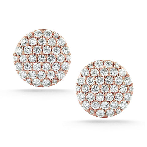 Lauren Joy Large Stud Earrings, , Earring, Dana Rebecca Designs, D'Amore Jewelers  - 3