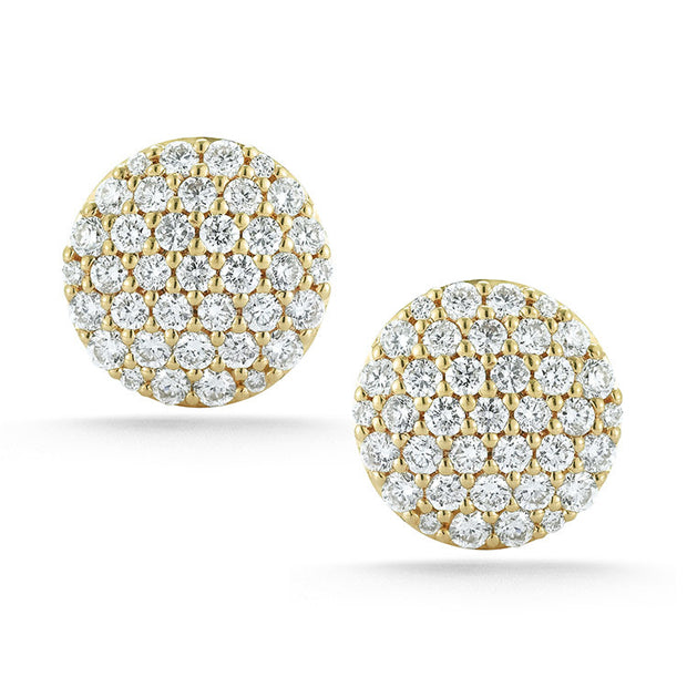 Lauren Joy Large Stud Earrings, , Earring, Dana Rebecca Designs, D'Amore Jewelers  - 2