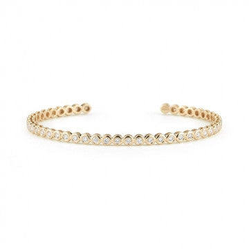 Sophia Ryan Diamond Cuff, , Bracelet, Dana Rebecca Designs, D'Amore Jewelers  - 2