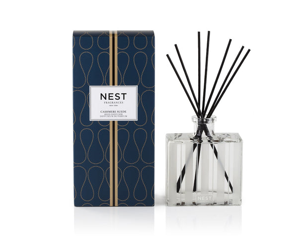 Cashmere Suede Reed Diffuser, , Home, NEST, D'Amore Jewelers