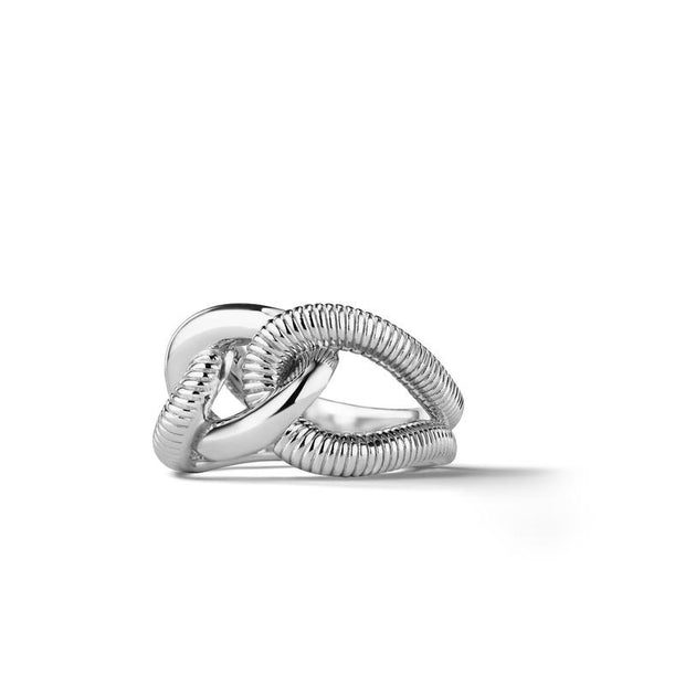 ETERNITY INTERLOCKING LINK RING