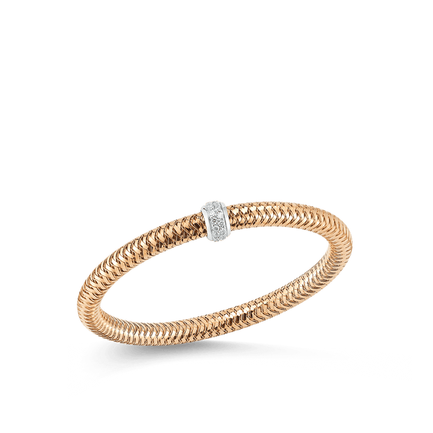 FLEXIBLE BANGLE WITH DIAMONDS - 5574001AJLBX