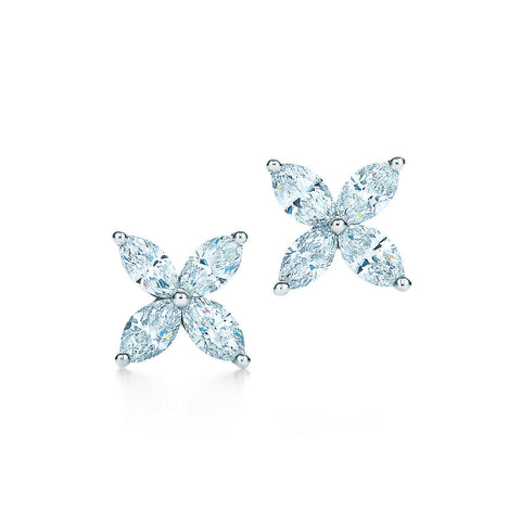 Marquise Diamond Earrings, , Earring, D'Amore Jewelers, D'Amore Jewelers