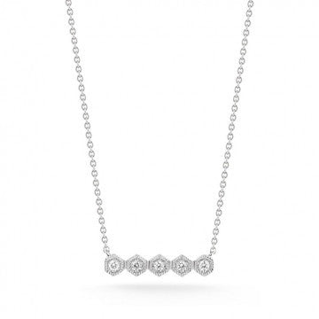 Jennifer Yamina Bar Necklace, , Necklace, Dana Rebecca Designs, D'Amore Jewelers  - 1