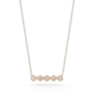 Jennifer Yamina Bar Necklace, , Necklace, Dana Rebecca Designs, D'Amore Jewelers  - 3