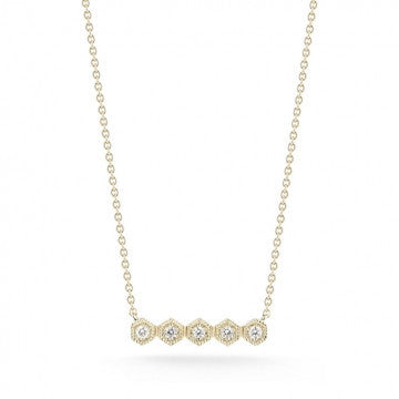 Jennifer Yamina Bar Necklace, , Necklace, Dana Rebecca Designs, D'Amore Jewelers  - 2