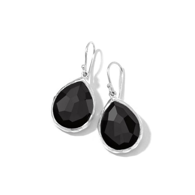 Small Teardrop Earrings in Sterling Silver
