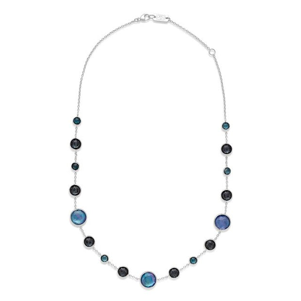 Lollitini Short Necklace in Sterling Silver