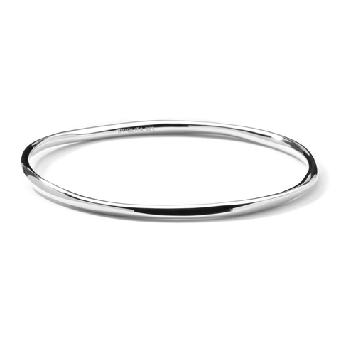Squiggle Bangle in Sterling Silver