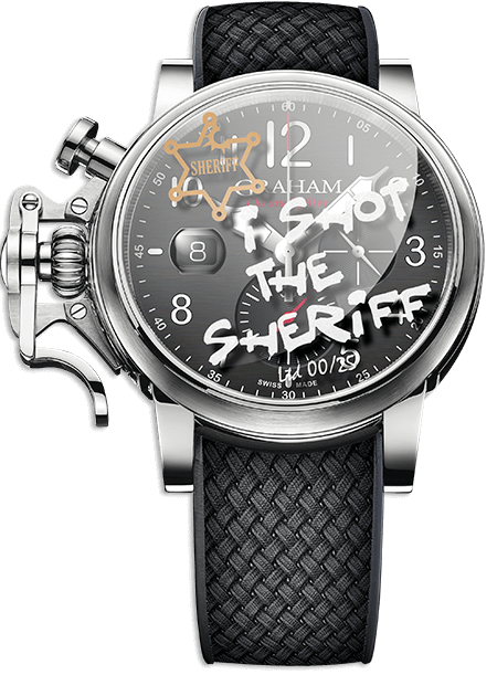 Graham Chronofighter Grand Vintage I SHOT THE SHERIFF Limited edition: 25 REF. 2CVDS.B29H