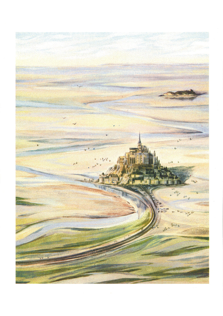 Sally Deng - Tour de France : Mont Saint-Michel