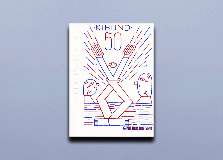 Kiblind 50 - Gino Bud Hoiting Cover 1