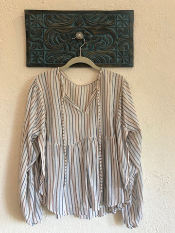 Flowy Striped Shirt