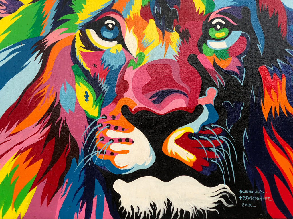 Multi-Color Lion