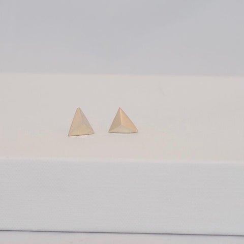 Silver Triangle Stud