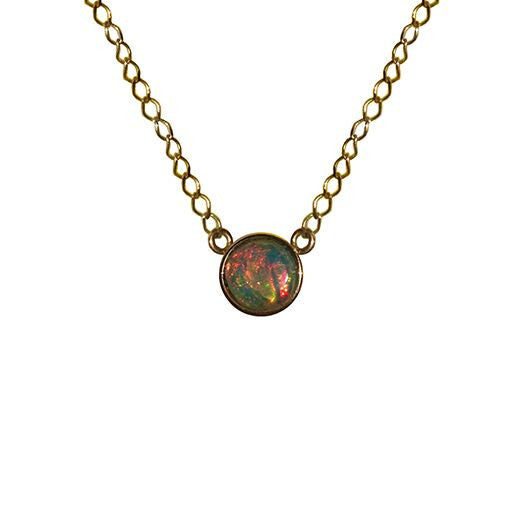 Opal Solo Necklace