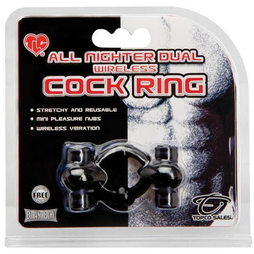 All Nighter Dual Wireless Cock Ring