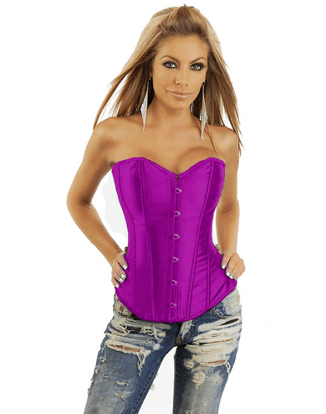"""Grace"" Strapless Boned Corset"