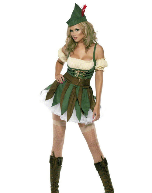 Feisty Outlaw Robin Hood Costume