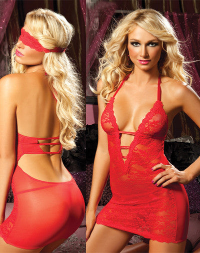 Midnight Affair Chemise - Red