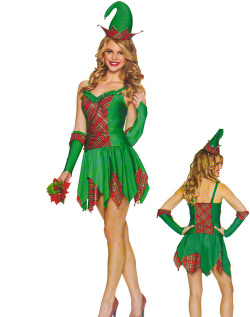 Green Bell Fairy Dress