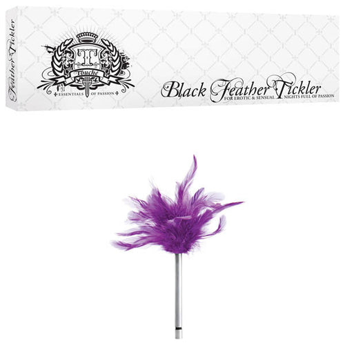 PURPLE FEATHER TICKLER