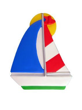 Sailboat Christmas Ornament