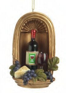 Wine Country Christmas Ornament (Set of 2)