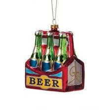 Six Pack Beer Christmas Ornament
