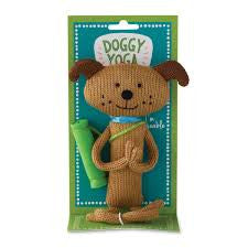 Doggy Yoga Christmas Ornament