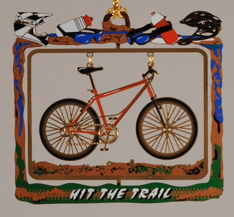 Hit the Trail! Christmas Ornament