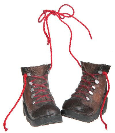 Hiking Boots Christmas Ornament
