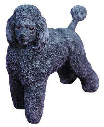 Black Poodle Christmas Ornament
