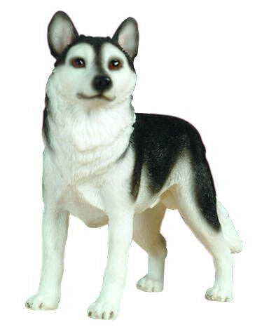 Husky Christmas Ornament