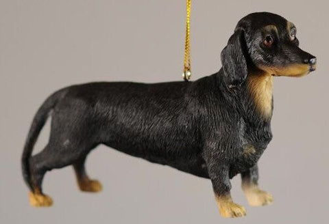 Dachschund Christmas Ornament (Set of 2)