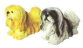 Lhaso Apso Christmas Ornament (set of 2)