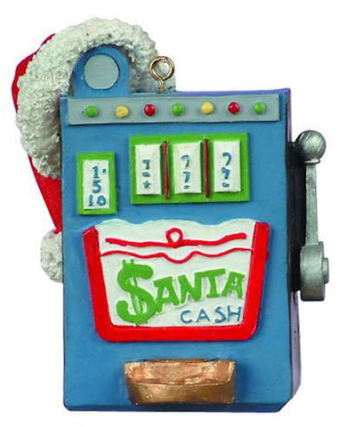 Slot Machine Christmas Ornament