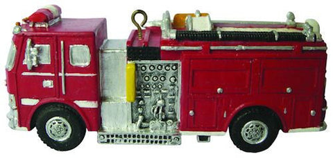 Fire Engine Christmas Ornament