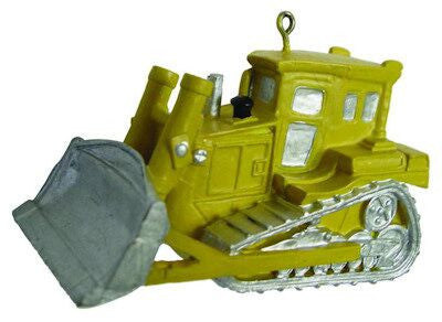 Bulldozer Christmas Ornament