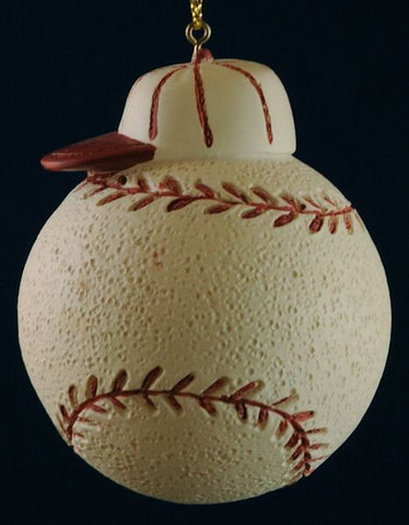 Baseball and Cap Christmas Ornament