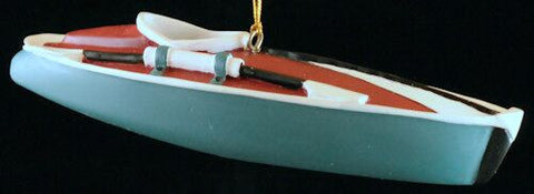 Kayak Christmas Ornament